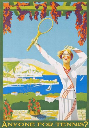 Anyone for tennis ? Poster